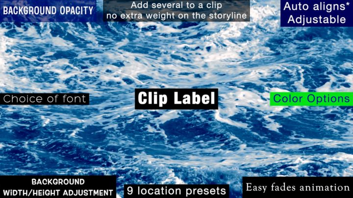 Clip Label - featuring location examples