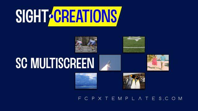 SC MultiScreen - for multi-stream presentations