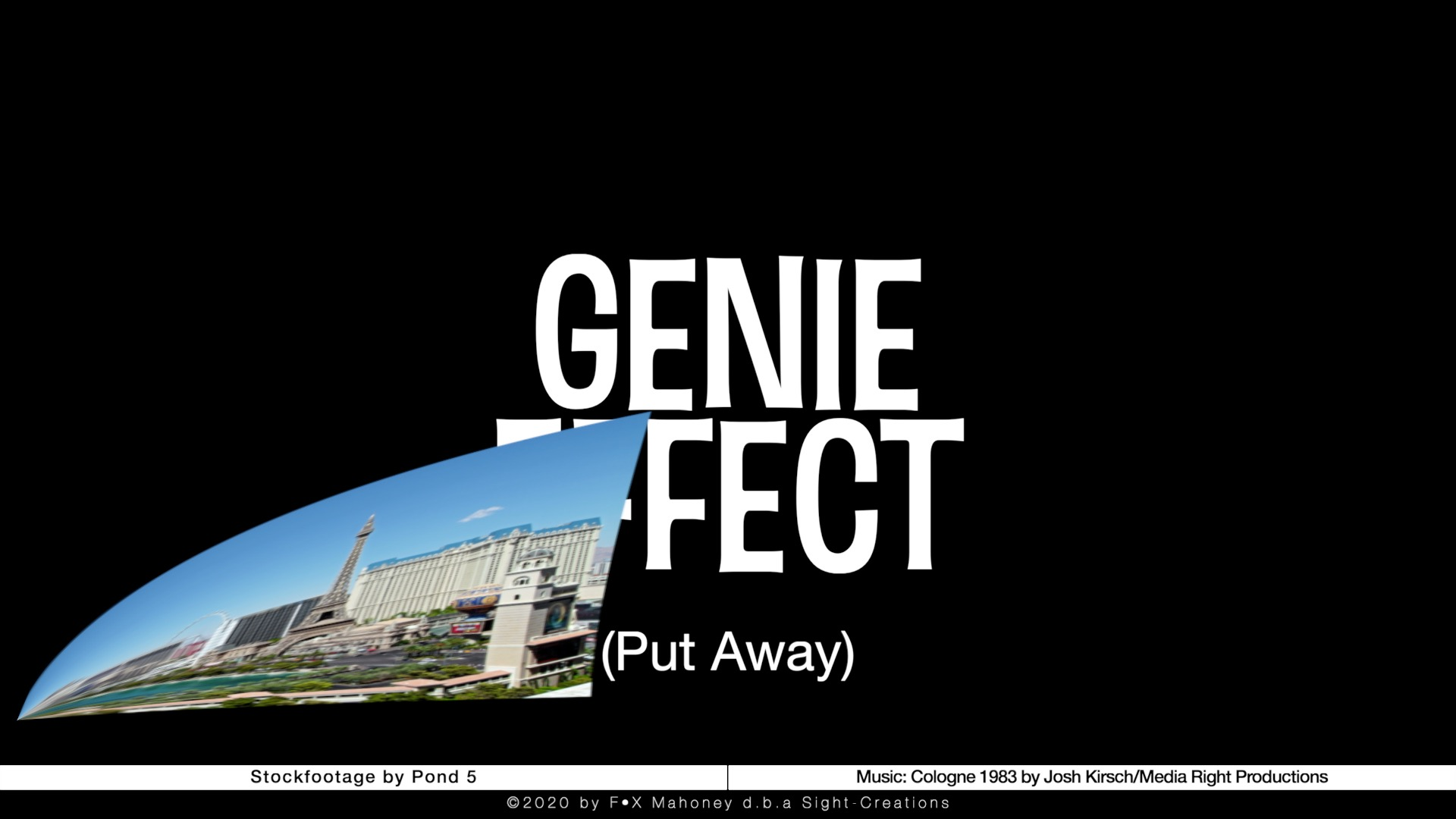 Genie Effect for FCPX