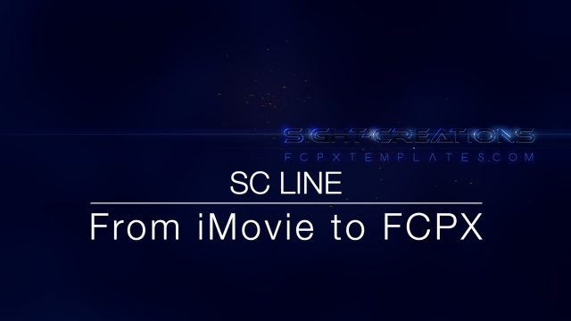 SC Line - title from iMovie to FCPX