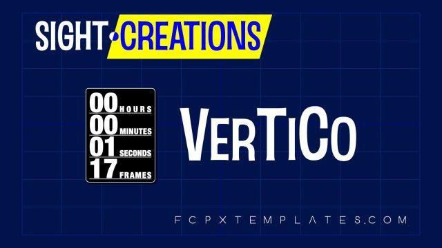 VerTiCo - Versatile Timecode