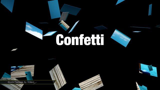 Confetti Transition for Final Cut Pro X