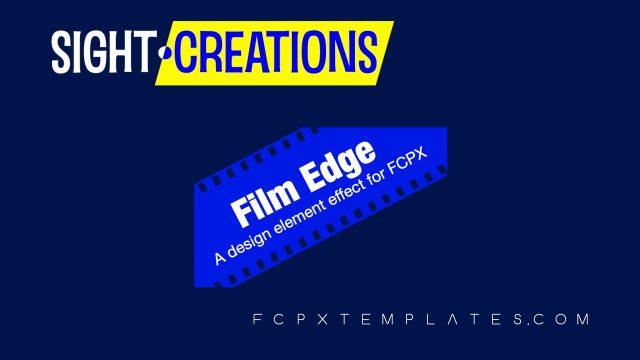 Film Edge Masking Effect for FCPX