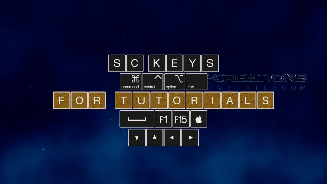 SC Keys - Show Keyboard Shortcuts for Tutorials