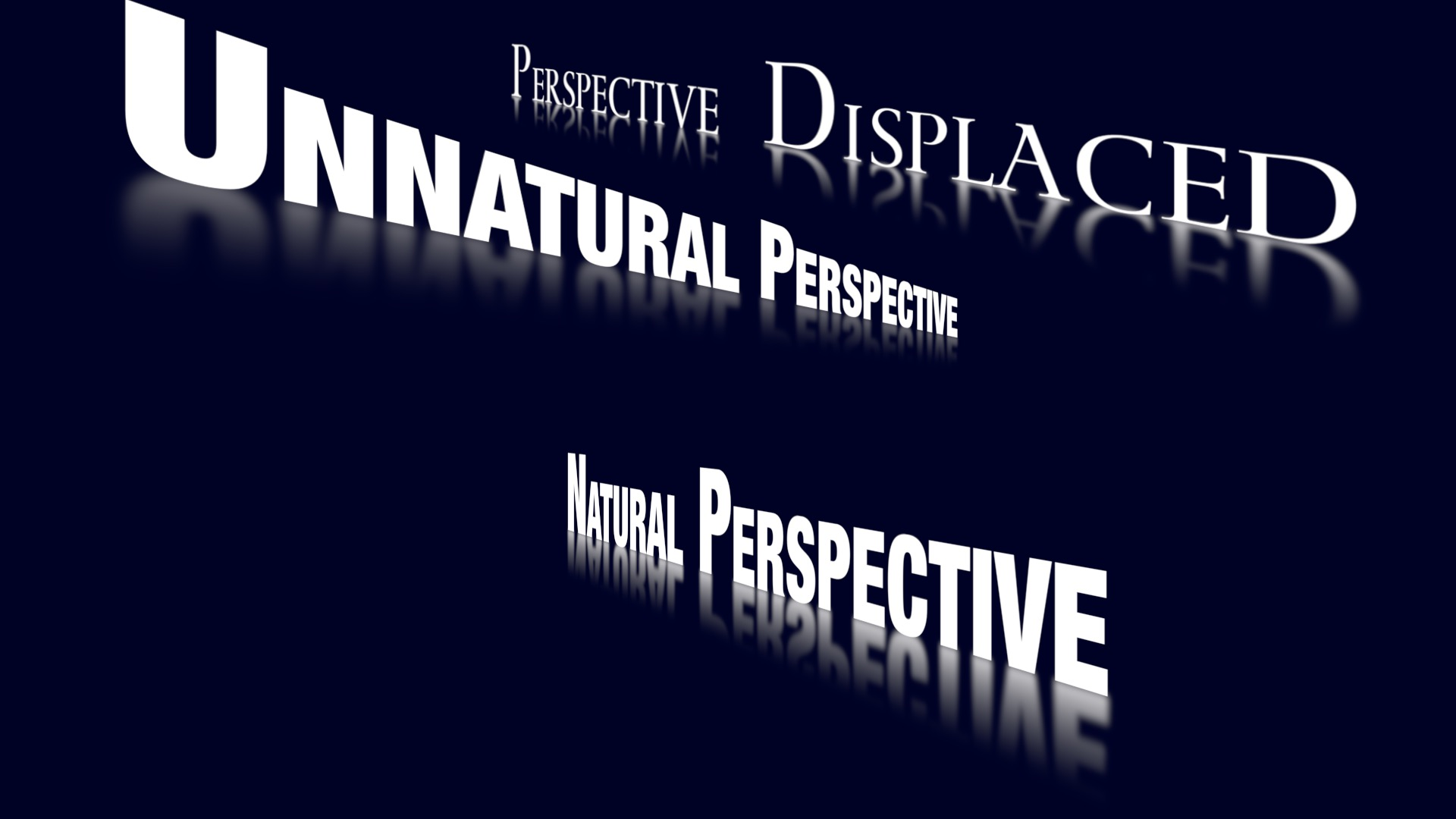 Always Reflective perspectives example