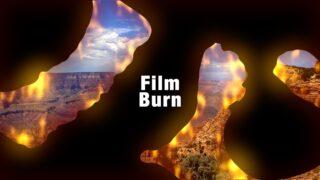 Film Burn Transition