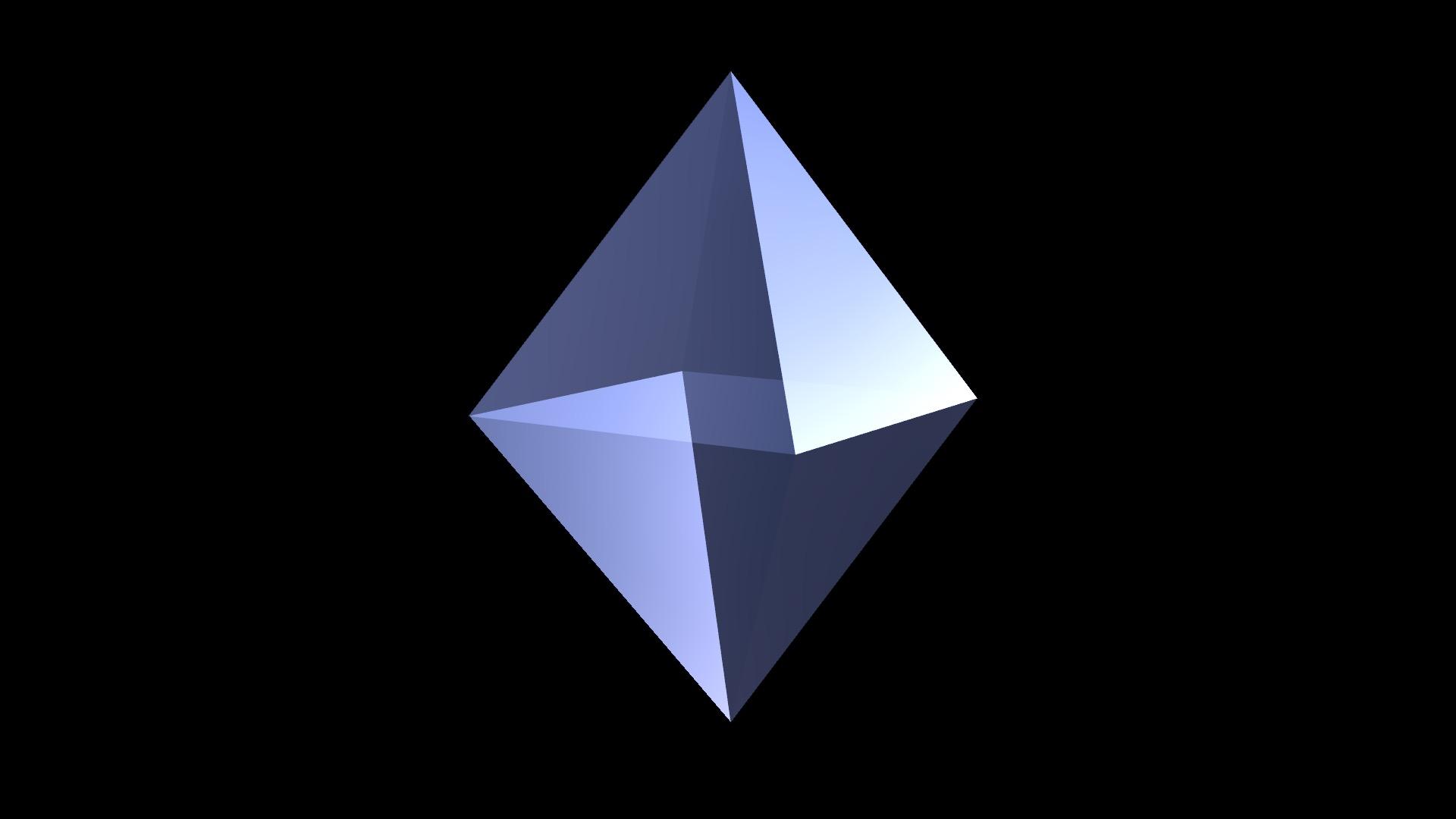 pyramids tetrahedrons demo 1