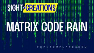 Matrix Code Rain Generator for FCPX