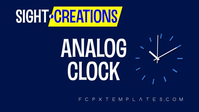 Analog Clock Effect for FCPX